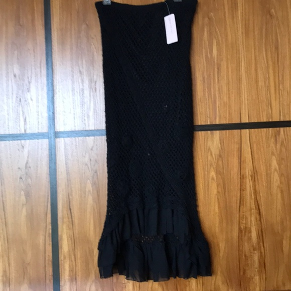 Bandolino Dresses & Skirts - Bandolino crochet Knit skirt with lining